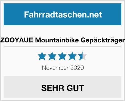 ZOOYAUE Mountainbike Gepäckträger Test