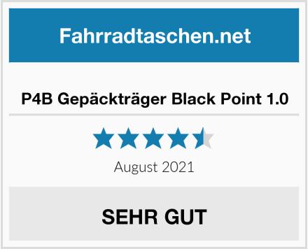 P4B Gepäckträger Black Point 1.0 Test