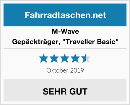 """M-Wave Gepäckträger, """"Traveller Basic"""" Test"""