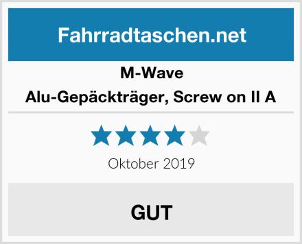 M-Wave Alu-Gepäckträger, Screw on II A Test