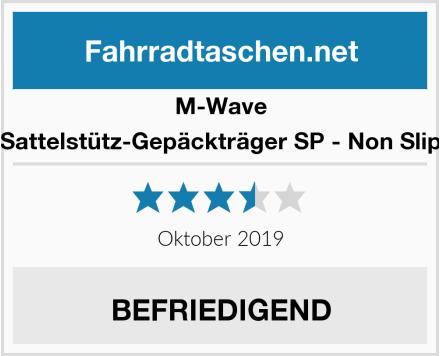 M-Wave Sattelstütz-Gepäckträger SP - Non Slip Test