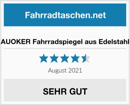 No Name AUOKER Fahrradspiegel aus Edelstahl Test