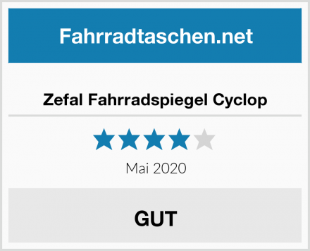 Zefal Fahrradspiegel Cyclop Test