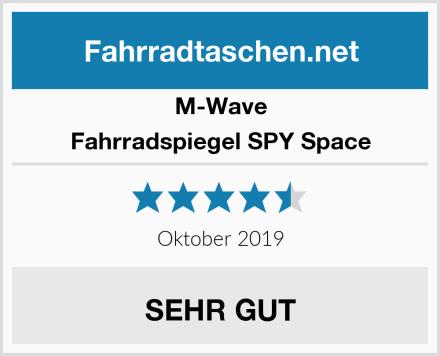 M-Wave Fahrradspiegel SPY Space Test