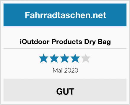 iOutdoor Products Dry Bag Test