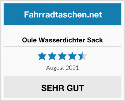 Oule Wasserdichter Sack Test