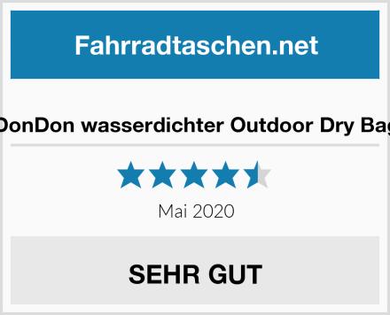 DonDon wasserdichter Outdoor Dry Bag Test