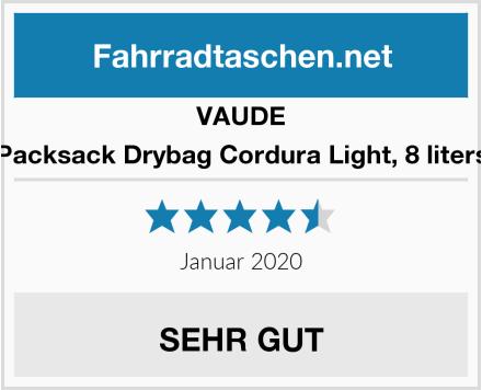 VAUDE Packsack Drybag Cordura Light, 8 liters Test