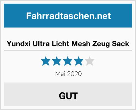 Yundxi Ultra Licht Mesh Zeug Sack Test