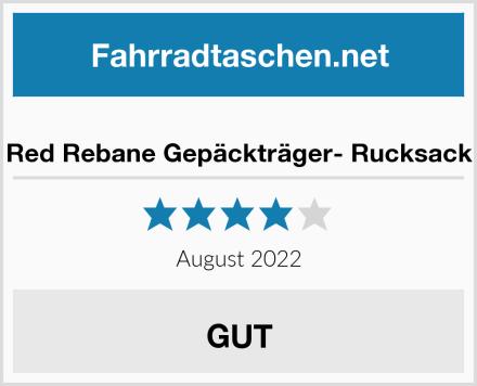 Red Rebane Gepäckträger- Rucksack Test