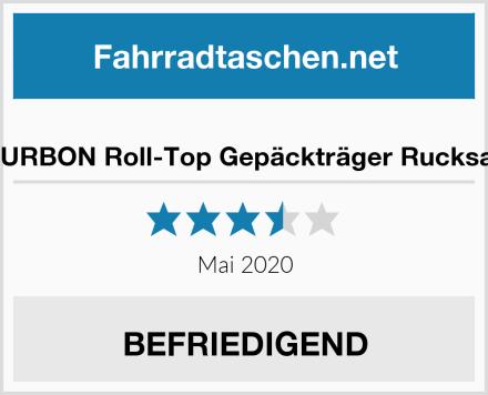 TOURBON Roll-Top Gepäckträger Rucksack Test