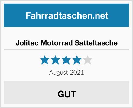 Jolitac Motorrad Satteltasche Test