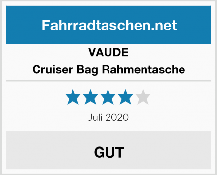 VAUDE Cruiser Bag Rahmentasche Test