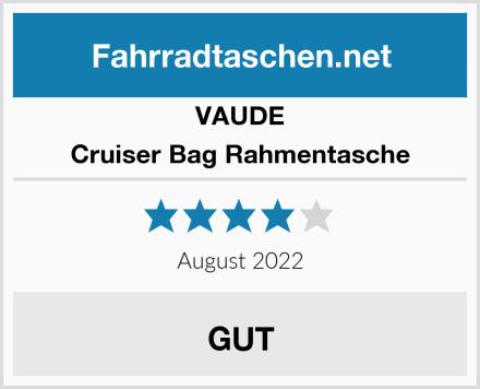 VAUDE Cruiser Bag Rahmentasche Test