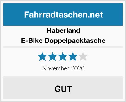 Haberland E-Bike Doppelpacktasche Test