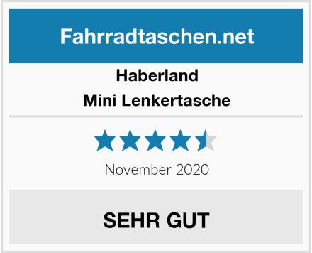 Haberland Mini Lenkertasche Test