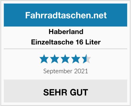 Haberland Einzeltasche 16 Liter Test