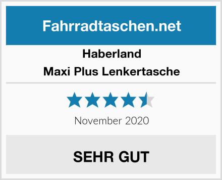Haberland Maxi Plus Lenkertasche Test