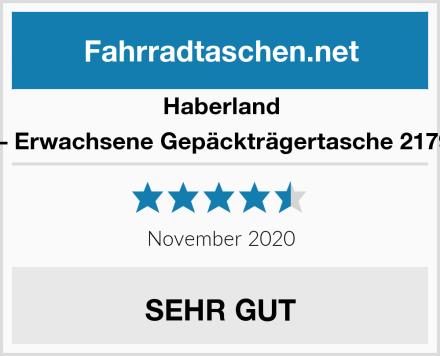 Haberland Unisex – Erwachsene Gepäckträgertasche 2179423820 Test