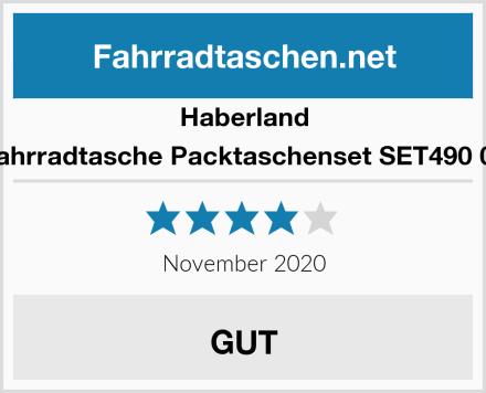 Haberland Fahrradtasche Packtaschenset SET490 00 Test