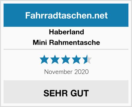 Haberland Mini Rahmentasche Test