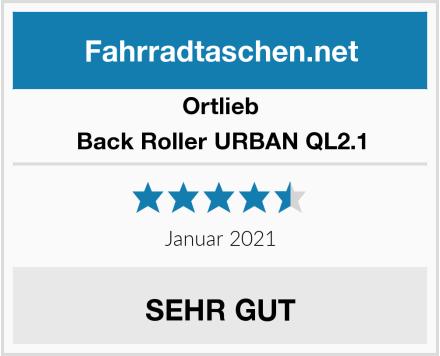 Ortlieb Back Roller URBAN QL2.1 Test