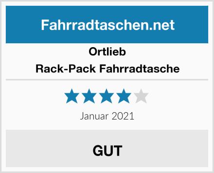 Ortlieb Rack-Pack Fahrradtasche Test