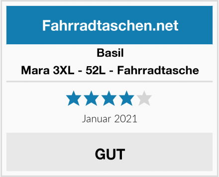 Basil Mara 3XL - 52L - Fahrradtasche Test
