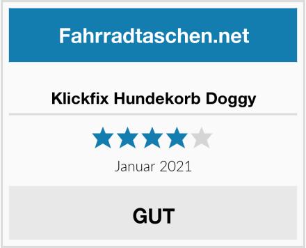 Klickfix Hundekorb Doggy Test