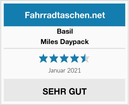 Basil Miles Daypack Test