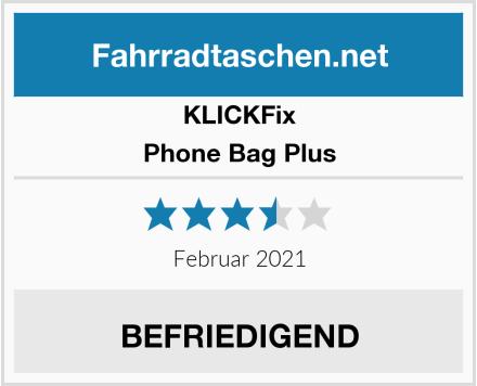 KLICKFix Phone Bag Plus Test
