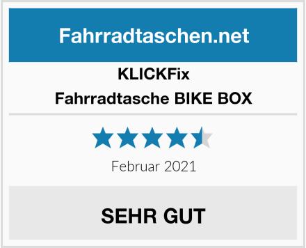 KLICKFix Fahrradtasche BIKE BOX Test
