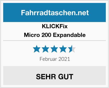 KLICKFix Micro 200 Expandable Test