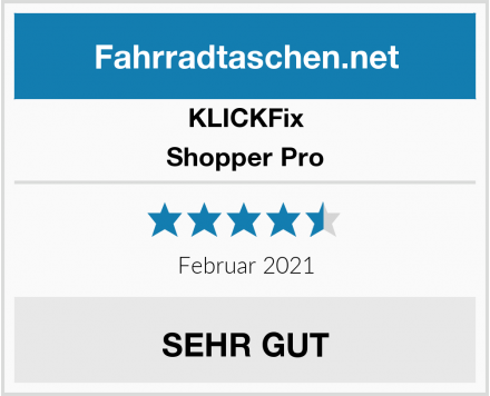 KLICKFix Shopper Pro Test