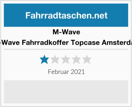 M-Wave M-Wave Fahrradkoffer Topcase Amsterdam Test