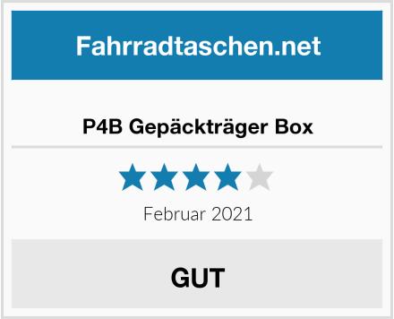 P4B Gepäckträger Box Test