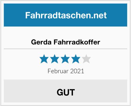 Gerda Fahrradkoffer Test