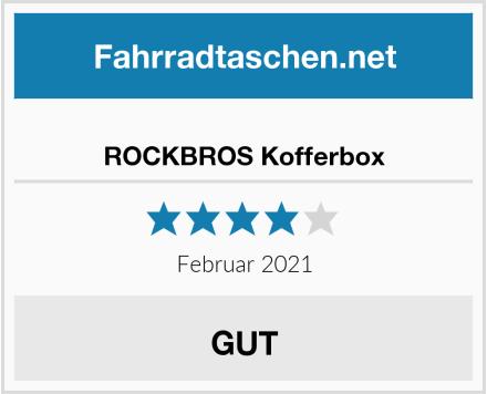 ROCKBROS Kofferbox Test