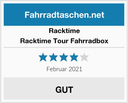 Racktime Racktime Tour Fahrradbox Test