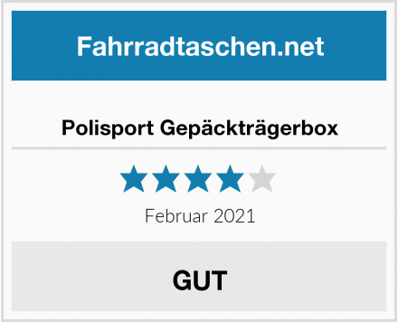 Polisport Gepäckträgerbox Test