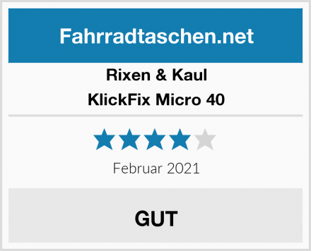 Rixen & Kaul KlickFix Micro 40 Test