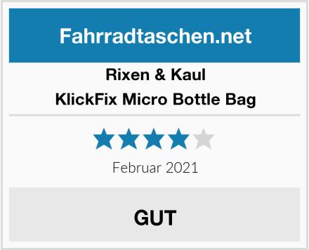 Rixen & Kaul KlickFix Micro Bottle Bag Test