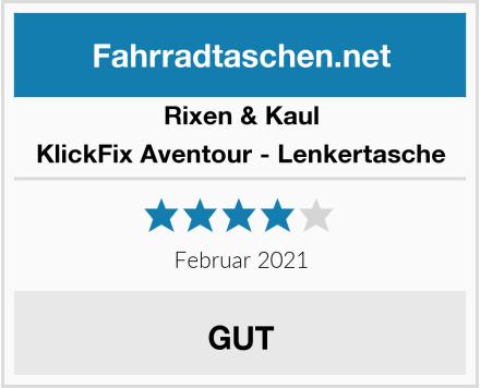 Rixen & Kaul KlickFix Aventour - Lenkertasche Test