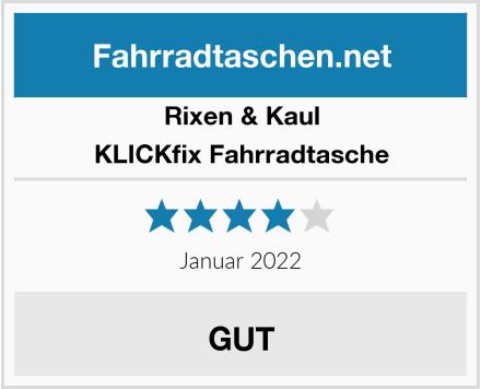 Rixen & Kaul KLICKfix Fahrradtasche Test