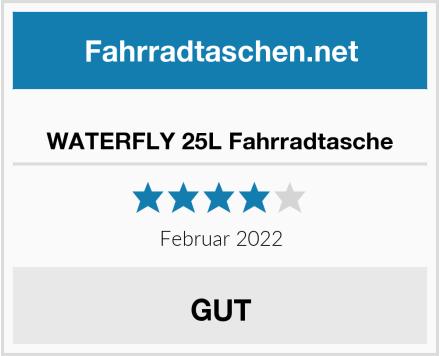 WATERFLY 25L Fahrradtasche Test