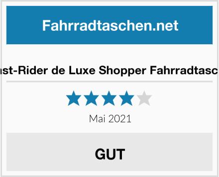 Fast-Rider de Luxe Shopper Fahrradtasche Test