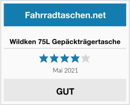 Wildken 75L Gepäckträgertasche Test