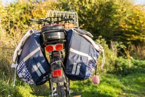 Reinigung und Pflege von Fahrradtaschen