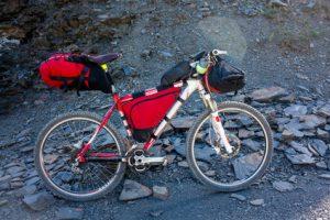 Fahrradtasche richtig packen