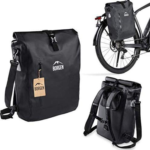 Borgen Fahrradtasche für Gepäckträger